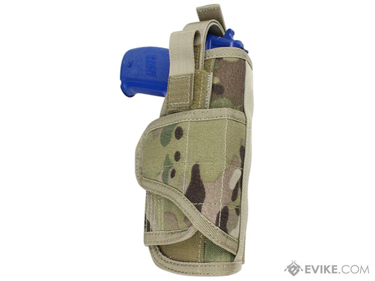 Condor Vertical MOLLE Ready Holster (Color: Multicam)