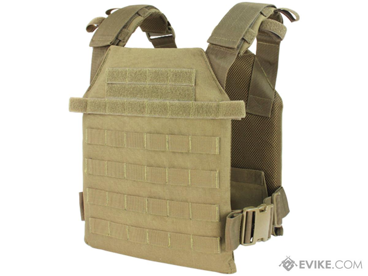 Condor Sentry Plate Carrier (Color: Tan)
