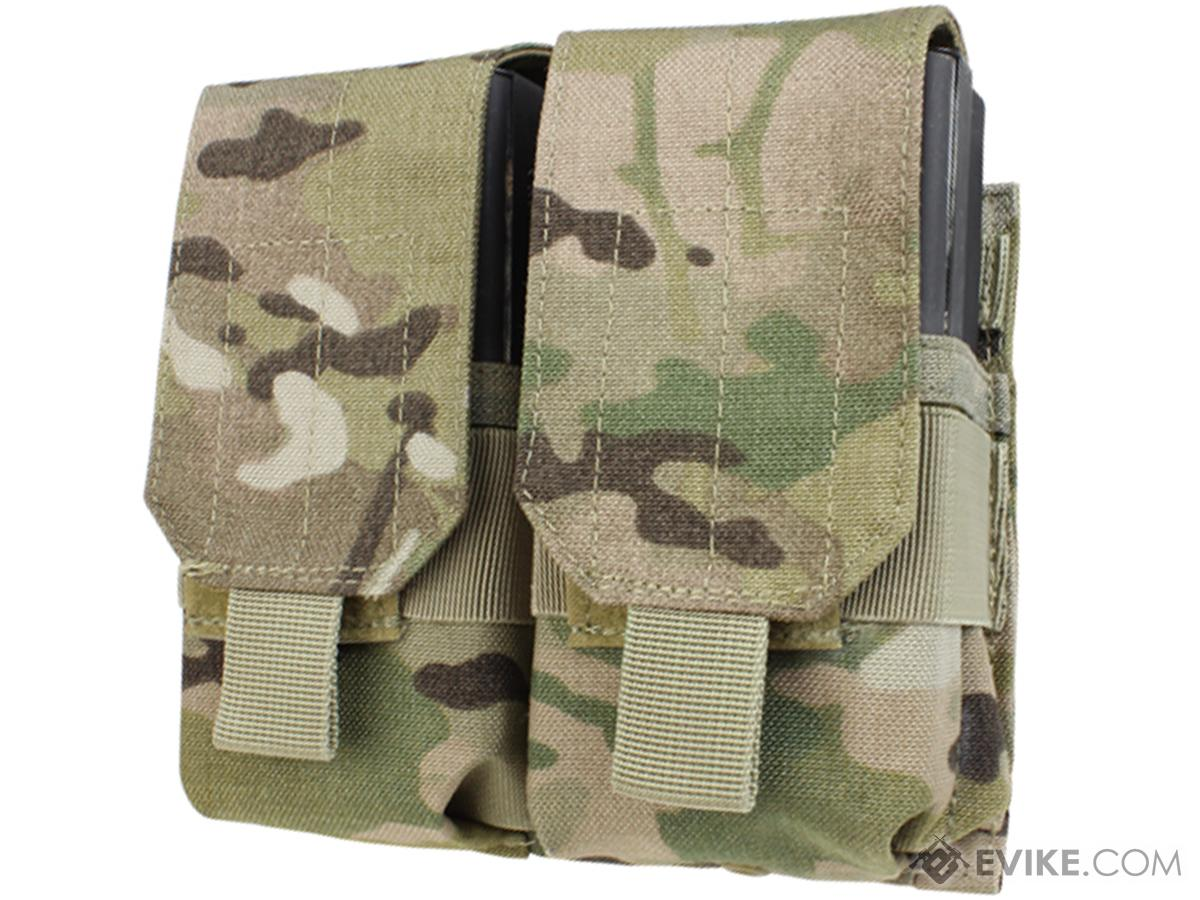 Condor Tactical Double M14 / 7.62 NATO Magazine Pouch (Color: Multicam)