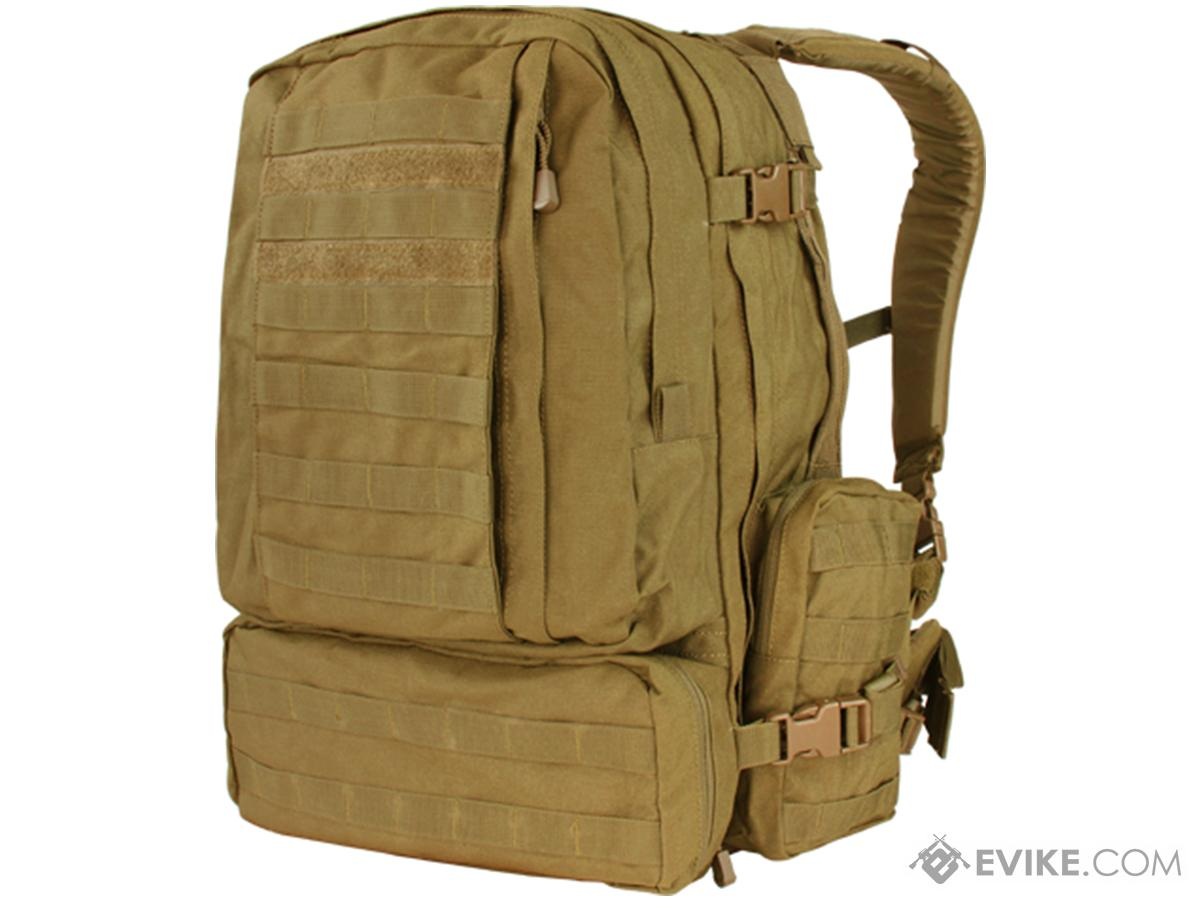 Condor Tactical Expedition Combat 3 Day Assault Back Pack (Color: Coyote Brown)
