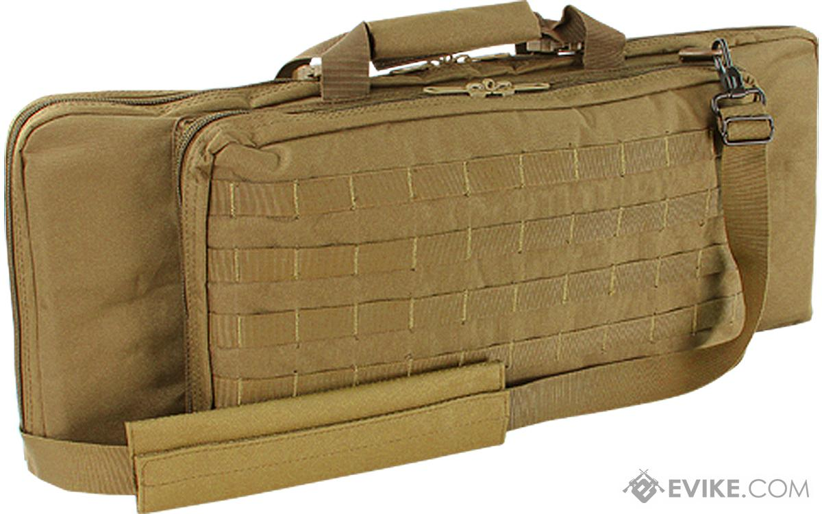 Condor 28 Tactical Padded Double Rifle Bag (Color: Coyote)