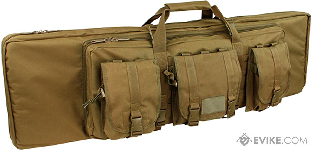 Condor 36 Tactical Padded Double Rifle Bag (Color: Coyote Brown)