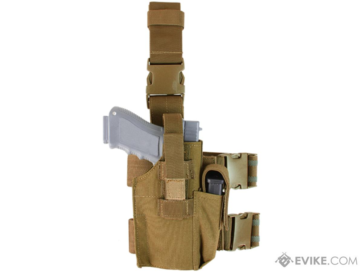 Condor Tactical Leg Holster (Color: Coyote Brown)