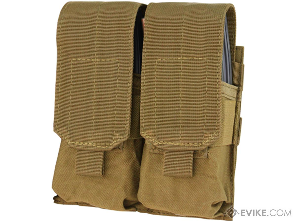 Condor Tactical Double AR15 / M4 / M16 / 5.56 NATO Magazine Pouch (Color: Coyote Brown)