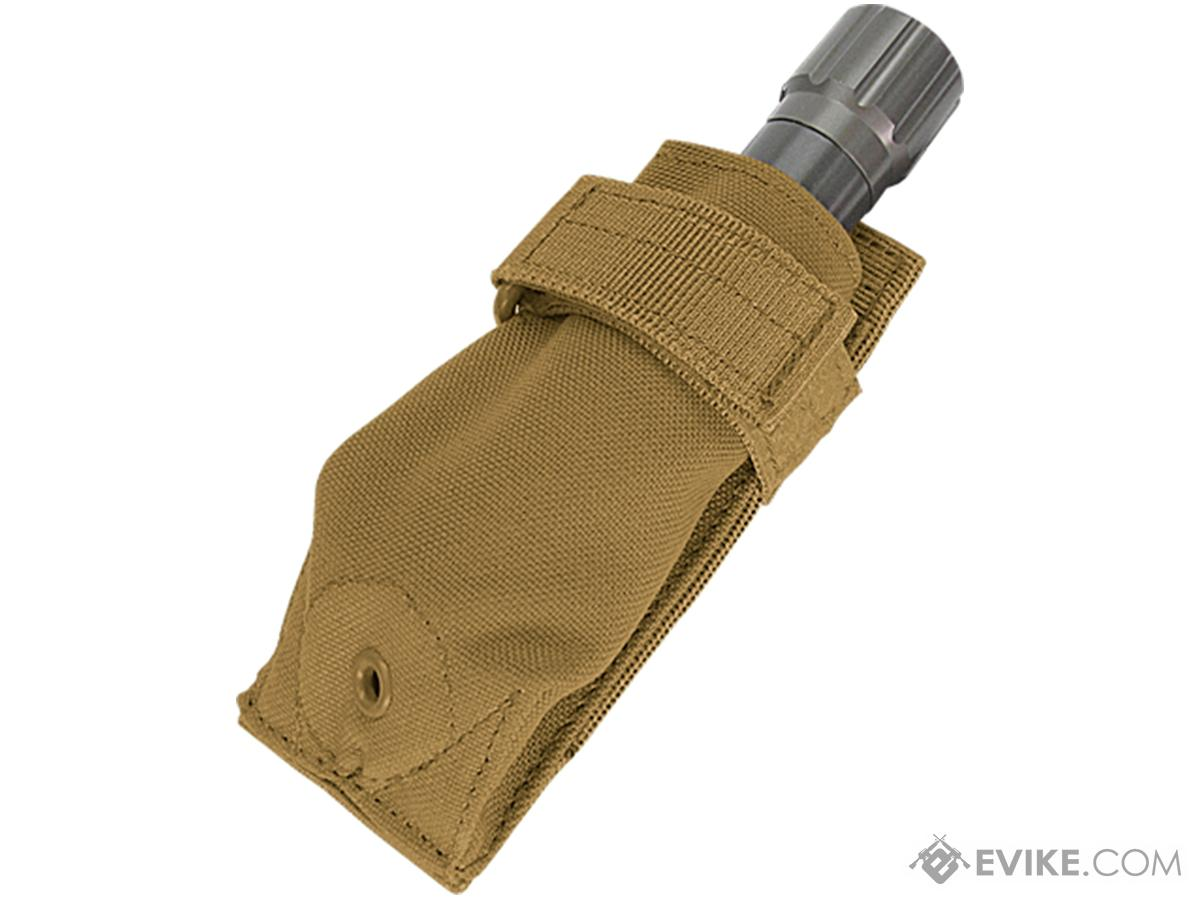 Condor Tactical Flashlight Pouch (Color: Coyote Brown)
