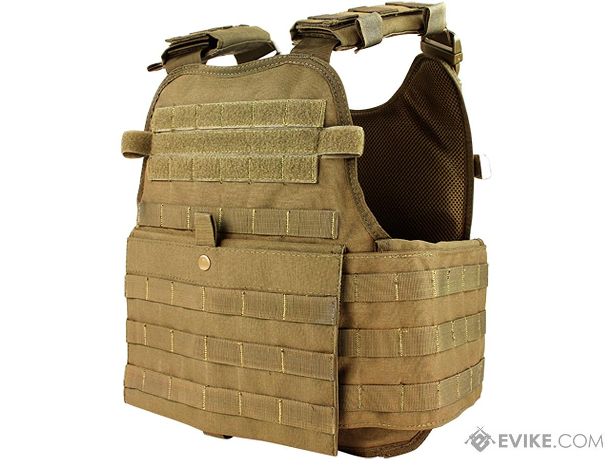 Condor Modular Operator Plate Carrier (Color: Coyote)