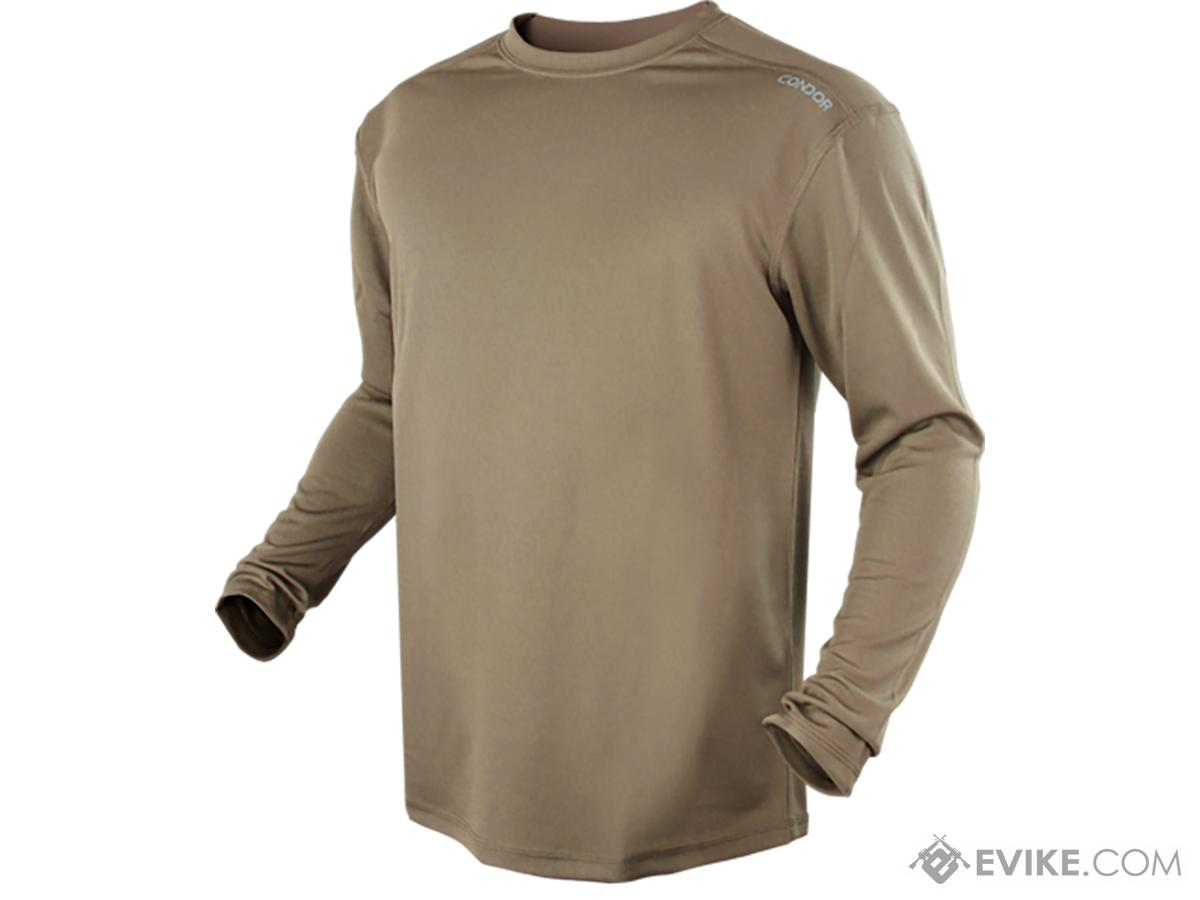 Condor Maxfort Long Sleeve Training Top (Color: Tan / Large)