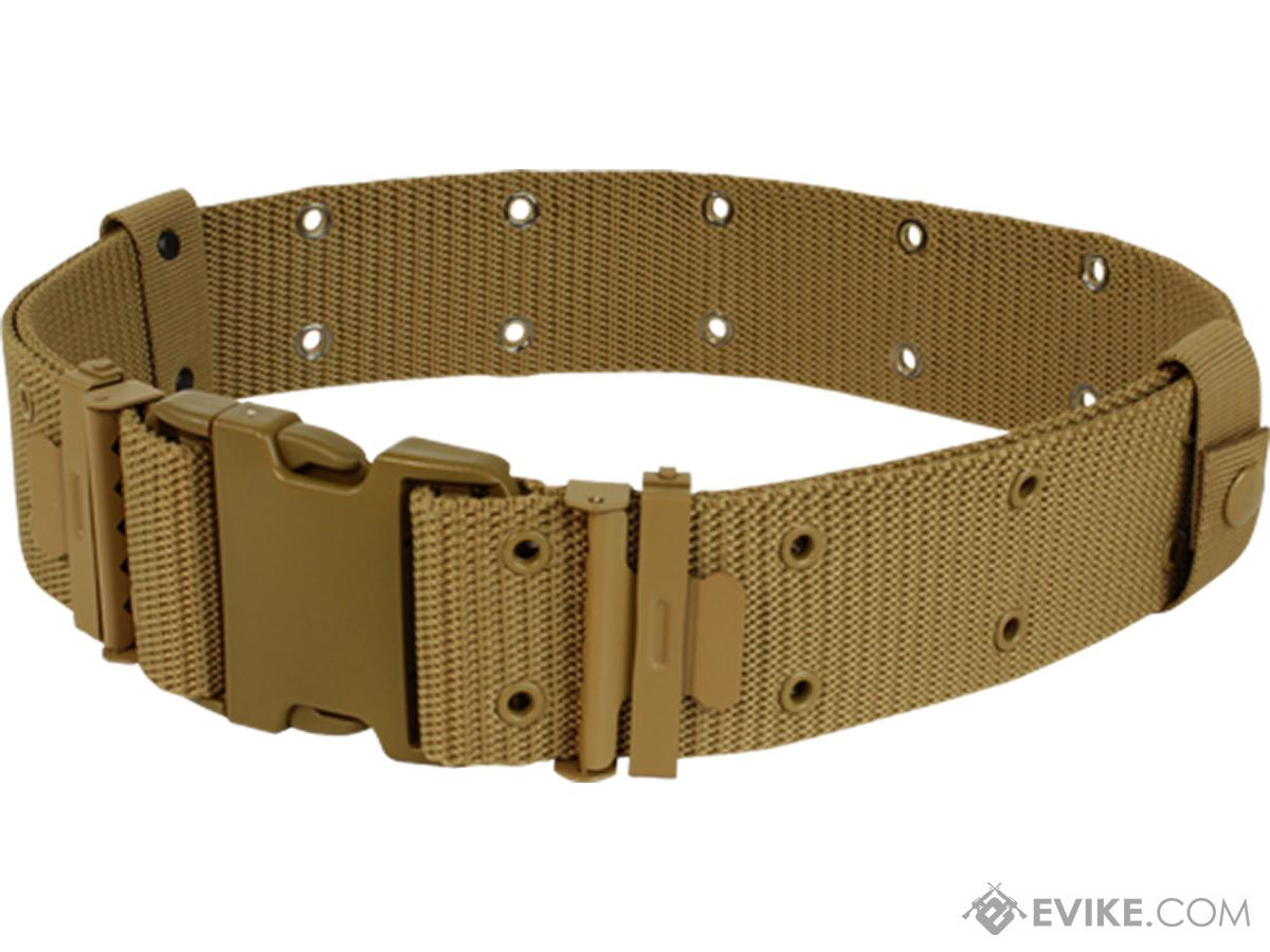 Condor G.I. Style Pistol Belt (Color: Coyote Brown)