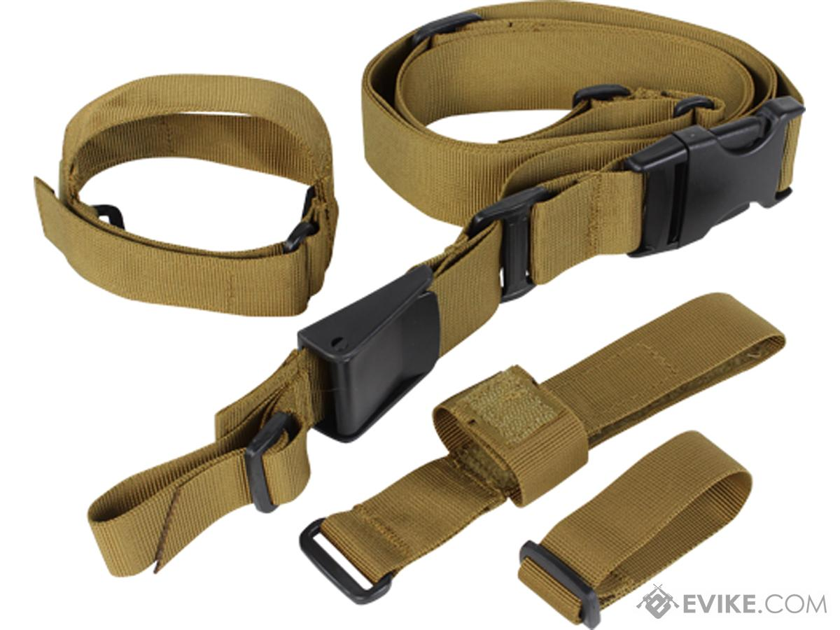 Condor Tactical 3 Point Sling (Color: Coyote Brown)