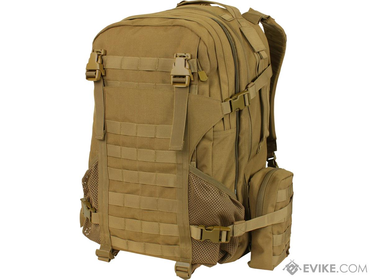 Condor Orion Assault Pack Backpack (Color: Coyote Brown)