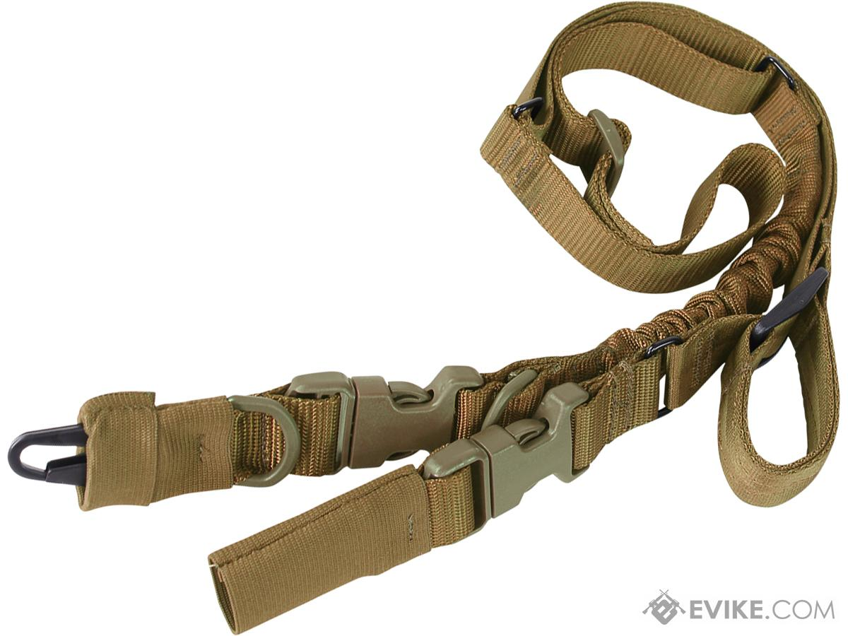 Condor STRYKE Two Point Bungee Sling (Color: Coyote Brown)
