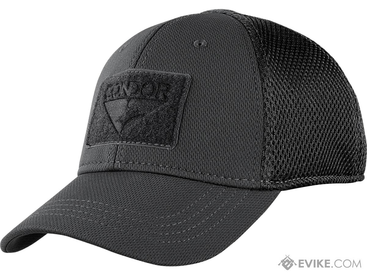 Condor Flex Tactical Mesh Cap (Color: Black / Large/X-Large)