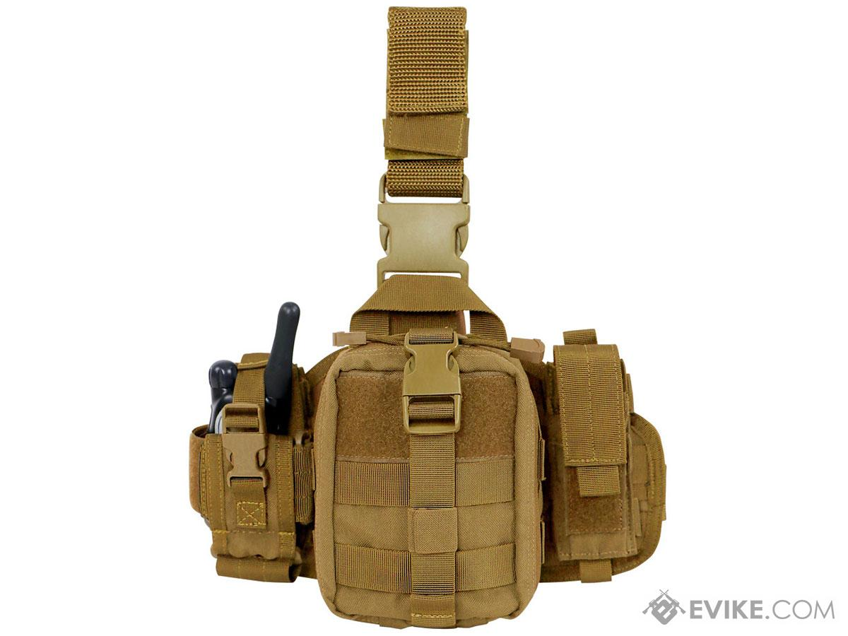 Condor EMT Leg Rig (Color: Coyote Brown)