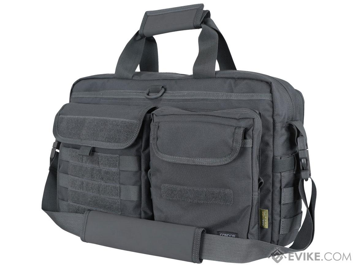 Condor Metropolis Briefcase Bag Color Slate