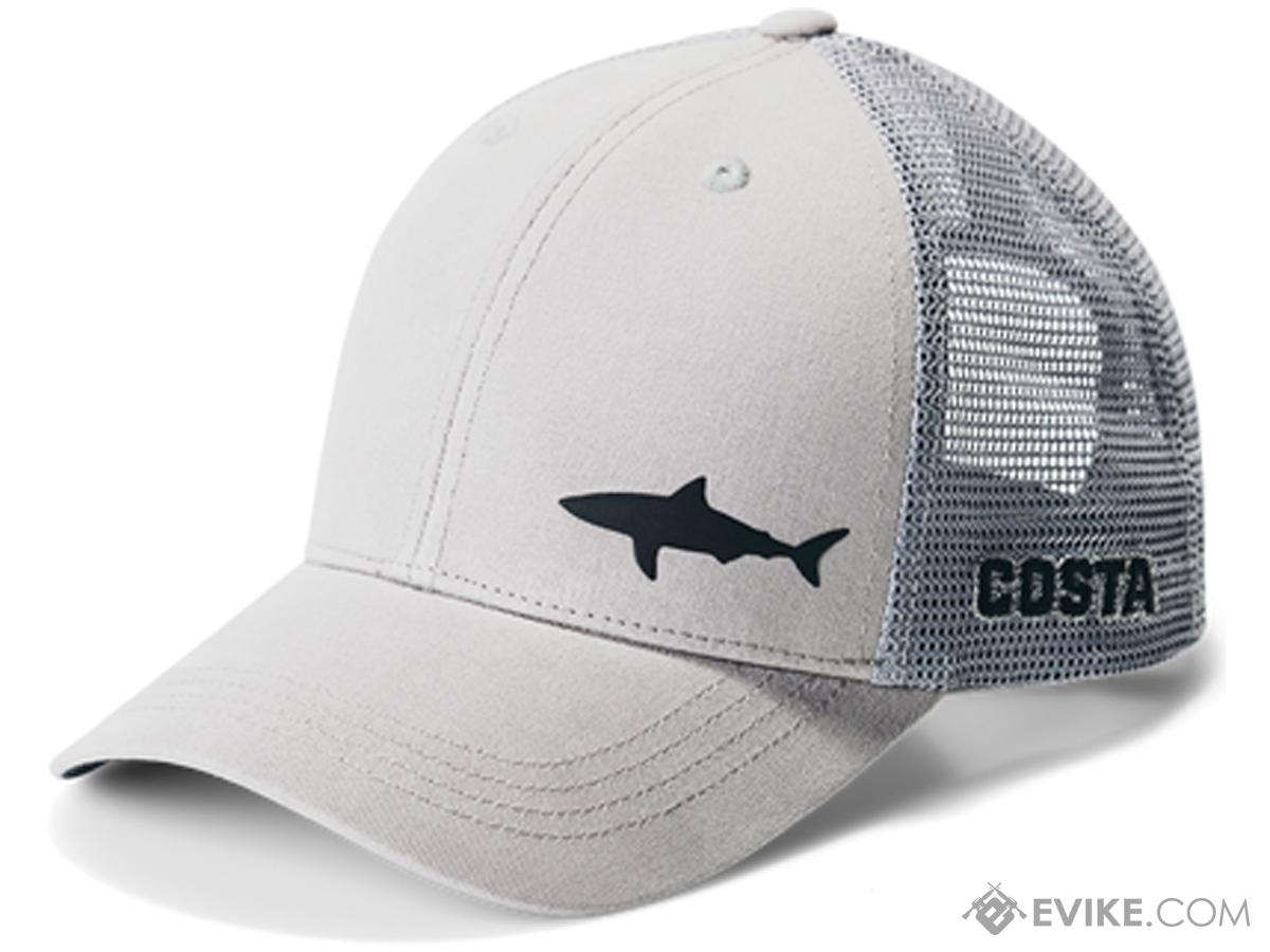 a58e17ae3ed Costa Del Mar Ocearch Blitz Trucker Hat (Color  Grey)