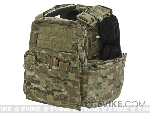 Crye Precision CAGE Plate Carrier and Plate Pouch Set   (Color: Multicam / Large)