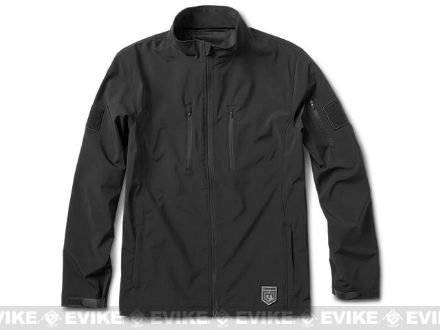 Cannae The Shield Soft Shell Jacket - Black (Size: X-Large)