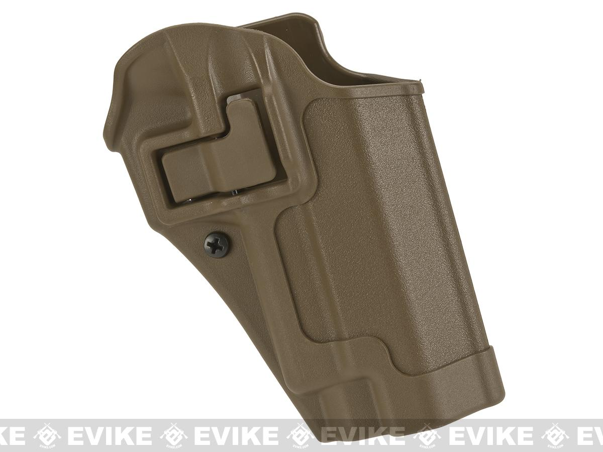Blackhawk! Serpa CQC Concealment Holster for Sig P220 / 226 / 225 w/ or w/o Std Rails (Hand: Right / Coyote Tan)