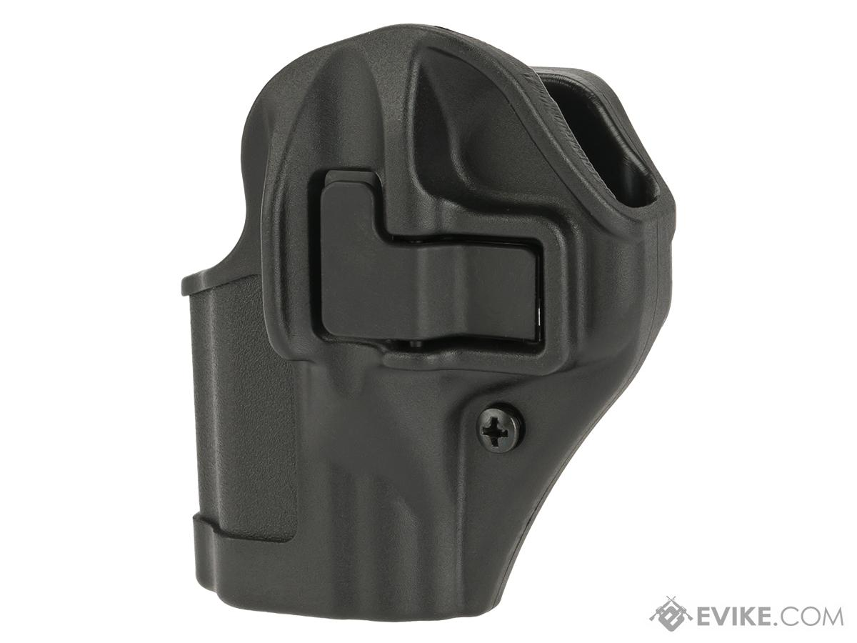 Blackhawk! Serpa CQC Concealment Holster for Smith and Wesson Shield Handguns 9mm  - Black (Hand: Left)