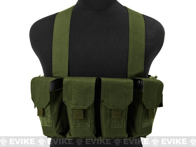 Matrix Bare Essentials Assault Chest Rig - OD Green