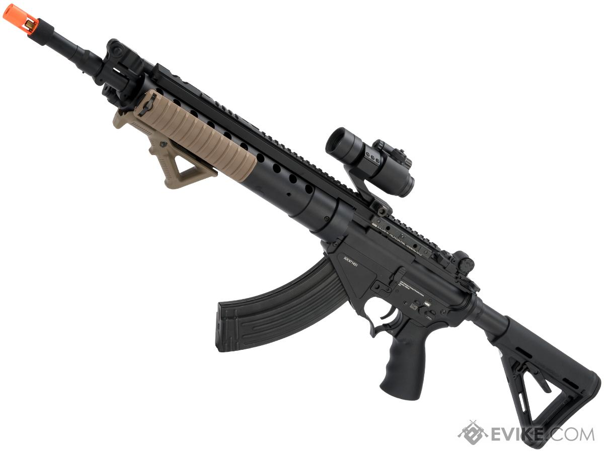Evike Class I Custom Limited Edition SOCOM-47 SPR MOD-0 w/ Red Dot Optic Airsoft AEG Rifle