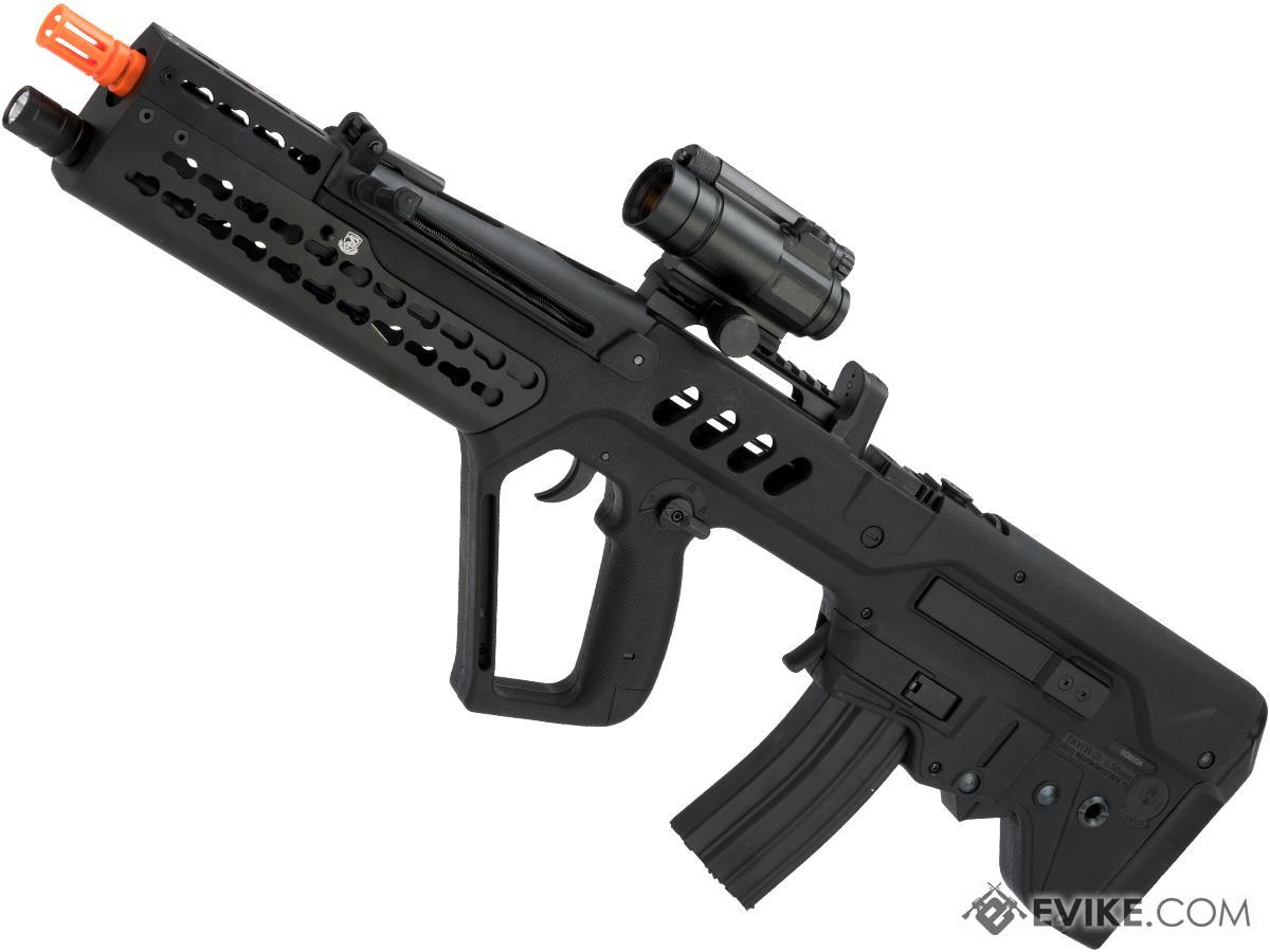 Pre-Order ETA August 2019 Evike.com Custom IWI Licensed Competition Tavor TAR-21 w/ Keymod Handguard & LED Light