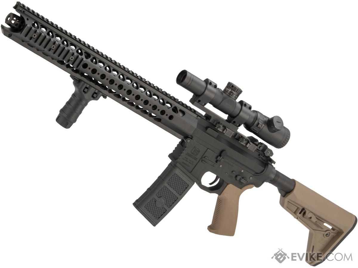 EMG / SAI Original Configuration GRY AR-15 AEG Training Rifle with LVOA Rail (Model: ITAR / Tan)