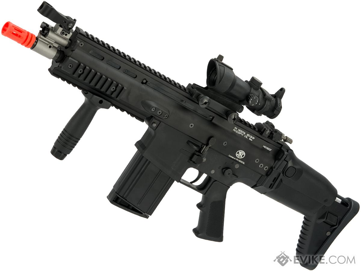 FN Herstal SCAR Licensed Gas Blowback Airsoft Rifle by WE-Tech (Color: Black / SCAR-H / CQC)
