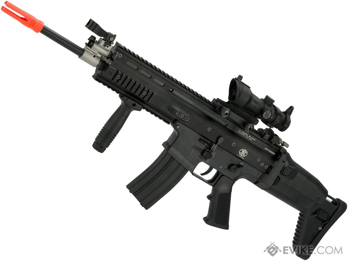 FN Herstal SCAR Licensed Gas Blowback Airsoft Rifle by WE-Tech (Color: Black / SCAR-L / Standard)