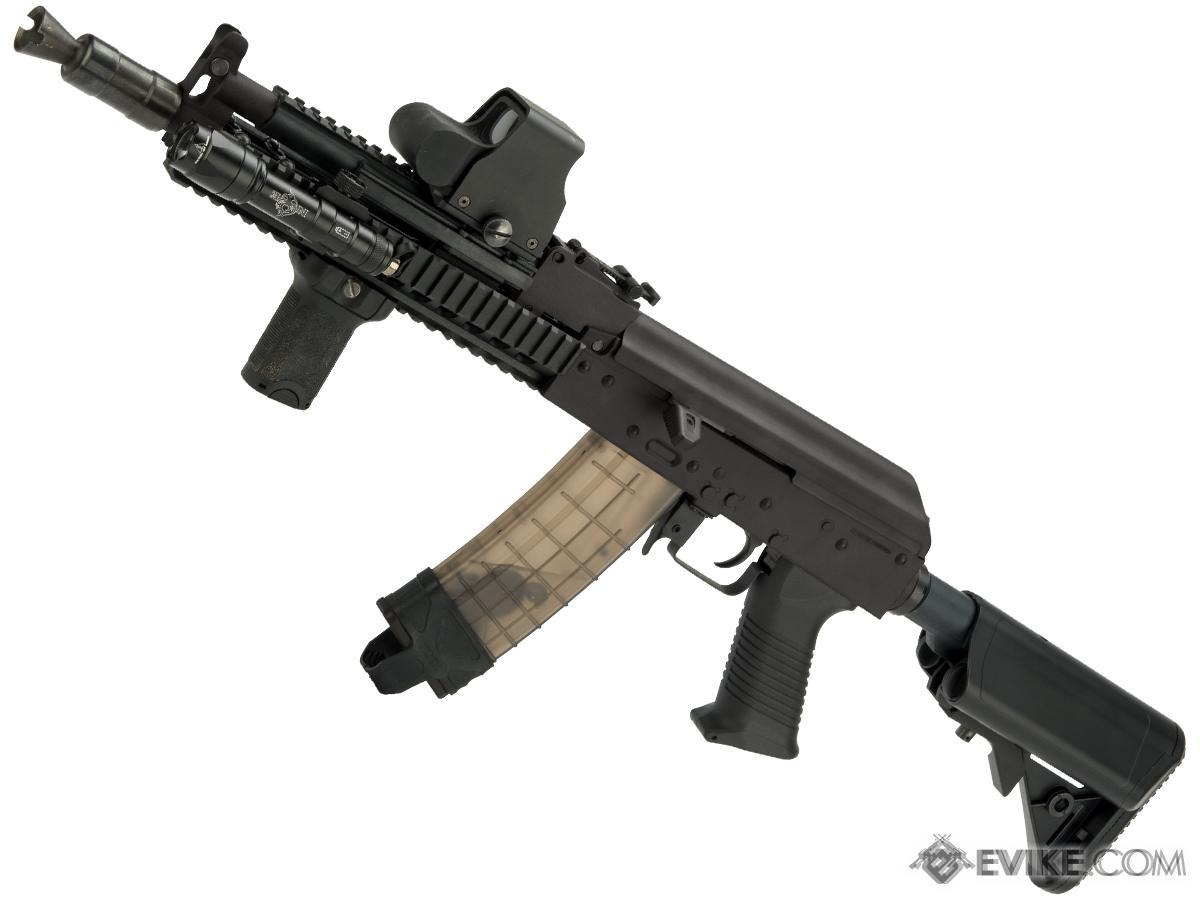 JG Full Metal AK47 Dynamic Tactical RIS Airsoft AEG w/ Metal Gearbox (Color: Black)