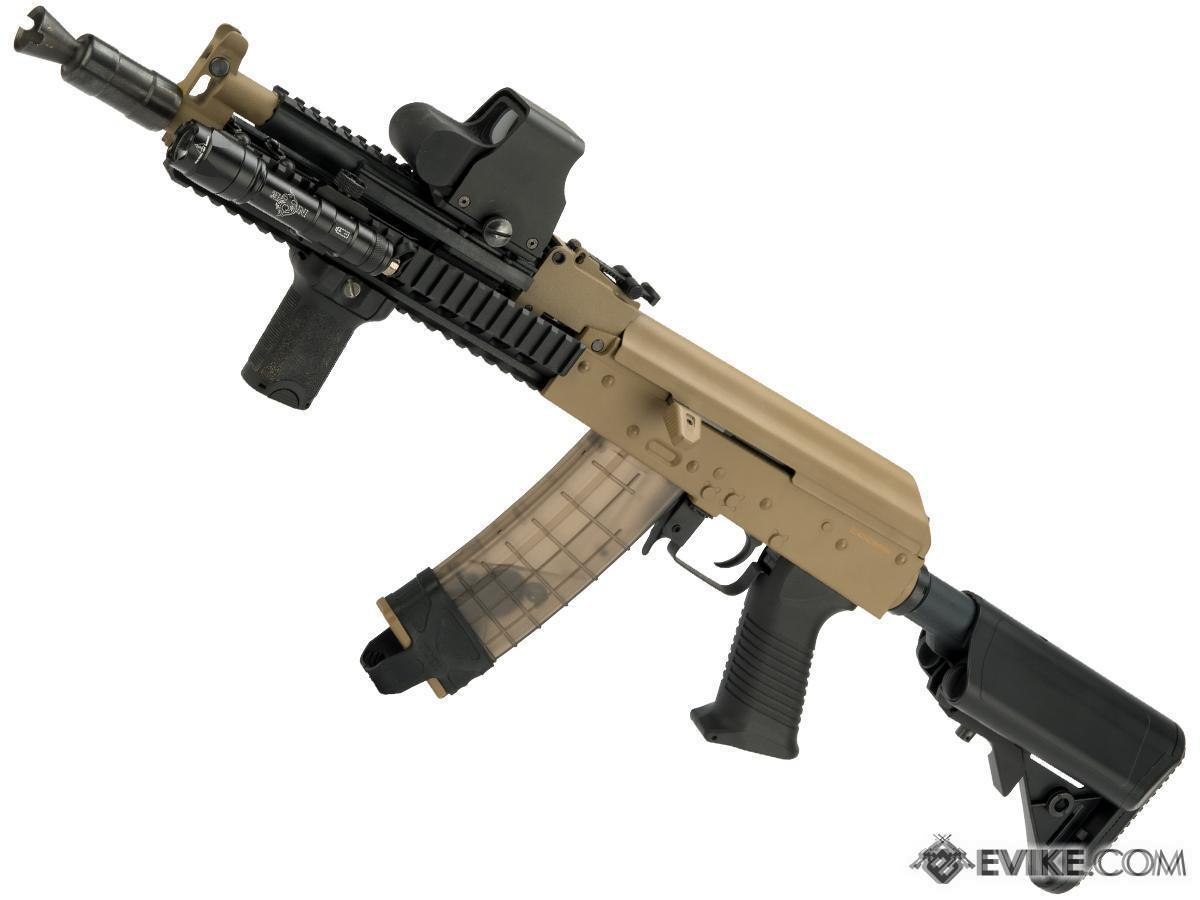 Matrix Special Edition AK Tactical Airsoft AEG by CYMA (Package: Tan / Gun Only)