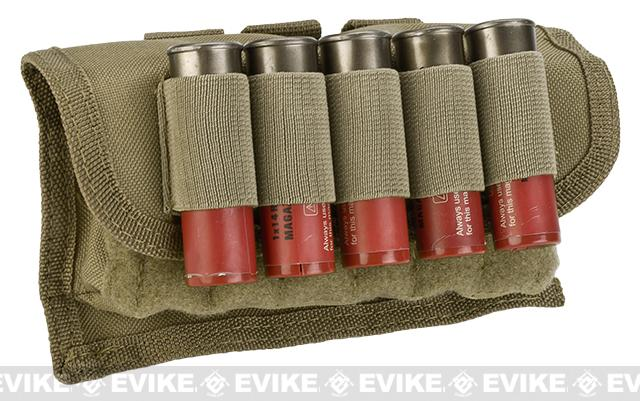 NcSTAR 17rd Tactical Shotgun Shell Pouch - Tan