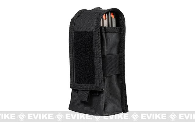 VISM by NcStar Double AR15/AK Series Magazine or Radio Pouch - Black
