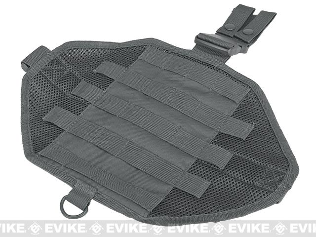 NcStar MOLLE Drop Leg Panel - Urban Gray