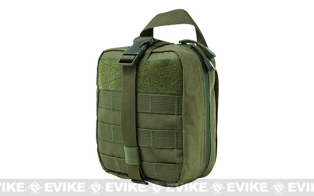 NcStar/VISM MOLLE Ready Rip-Away EMT pouch - OD Green