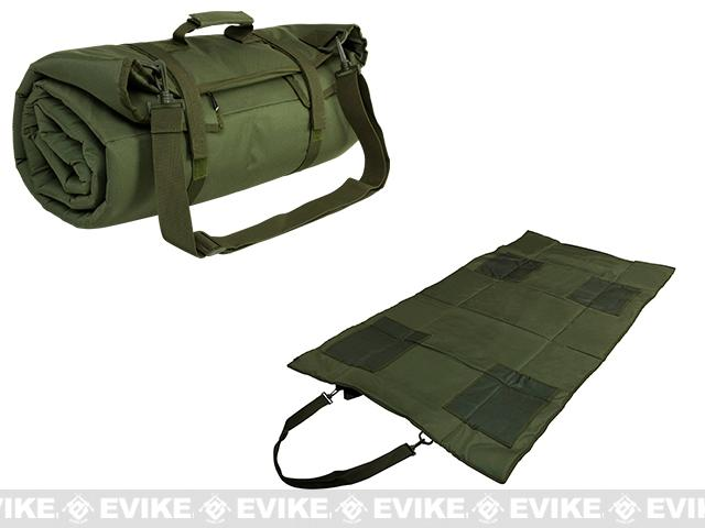 NcSTAR / VISM Roll Up Shooting Mat - OD Green
