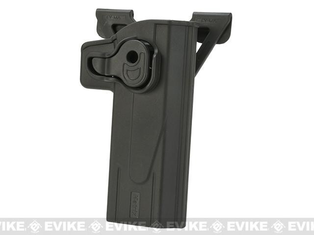 Matrix Hardshell Adjustable Holster for STI Hi-Capa 2011 Series Pistols - (Mount: MOLLE Mount Attachment)