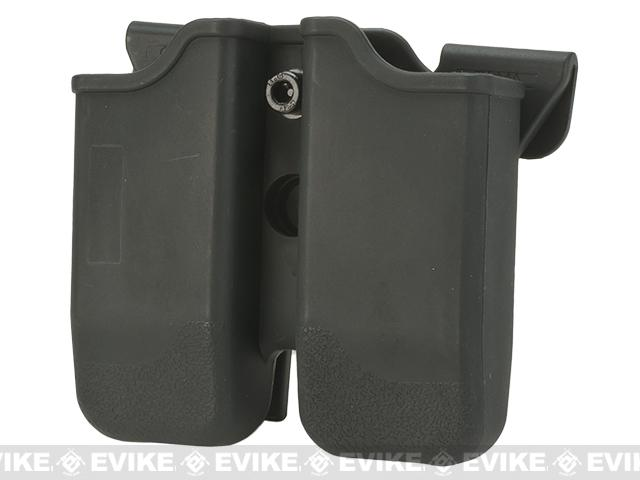 Matrix Hardshell Adjustable Magazine Holster for Sig P226 / Beretta M9 Series Pistol Mags (Mount: MOLLE Attachment)