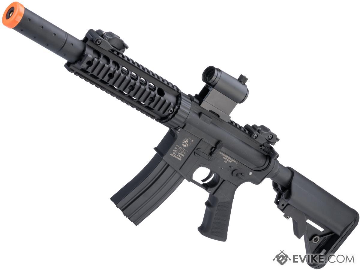 Colt Licensed Sportsline M4 AEG by Cybergun (Model: M4 CQB-R w/ 7 Rail / Black)