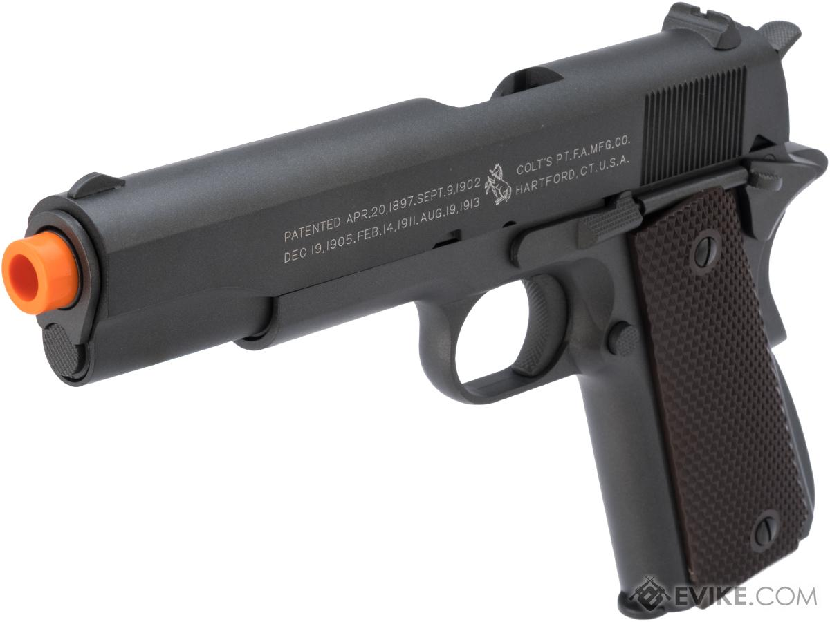 Colt 100th Anniversary Licensed Full Metal M1911 A1 Airsoft CO2 GBB by KWC (Version: 370 FPS Version)
