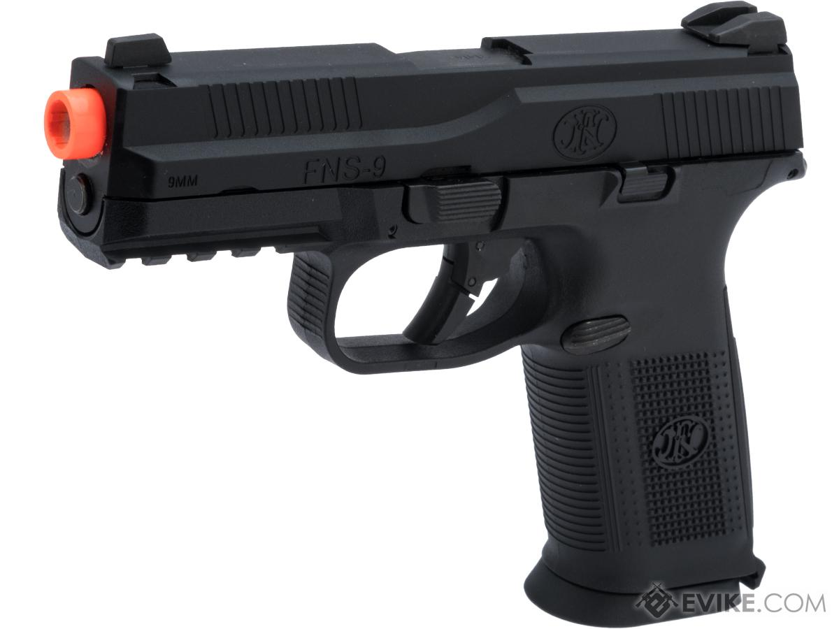 Cybergun FN Herstal Licensed FNS-9 Gas Blowback Airsoft Pistol by VFC (Color: Black)