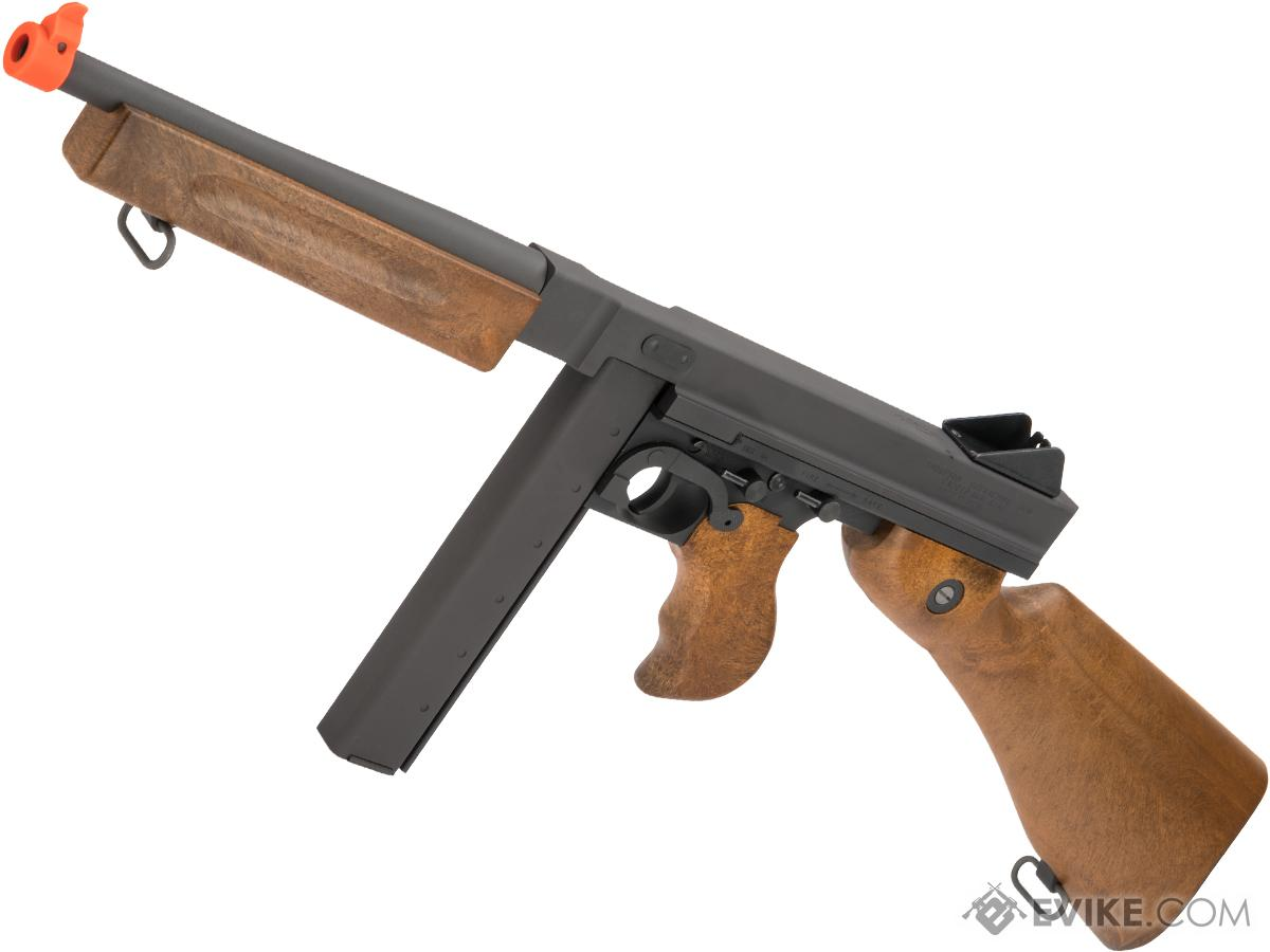 Auto Ordnance WE-Tech M1A1 Thompson Gas Blowback Airsoft Rifle by Cybergun