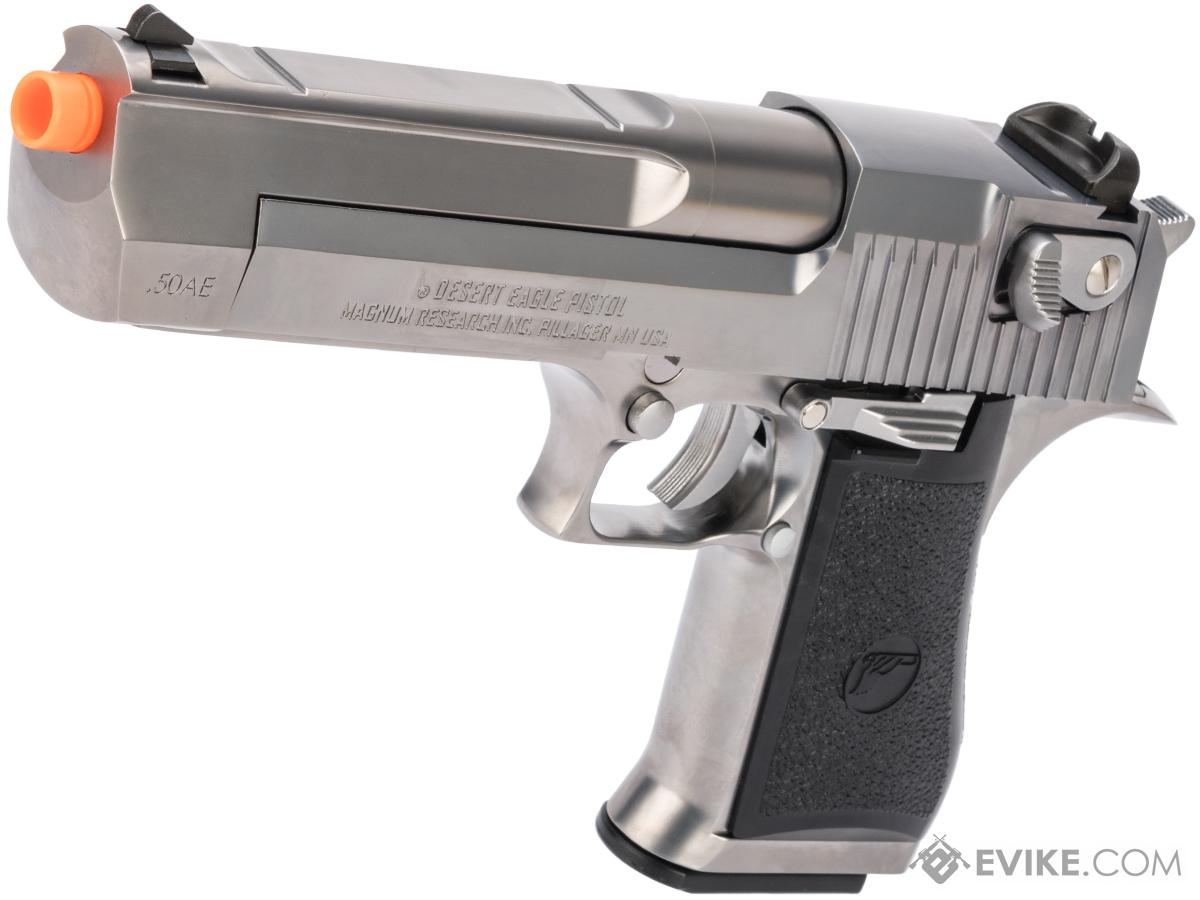 WE-Tech Desert Eagle .50 AE Full Metal Gas Blowback Airsoft Pistol by Cybergun (Color: Chrome / CO2)