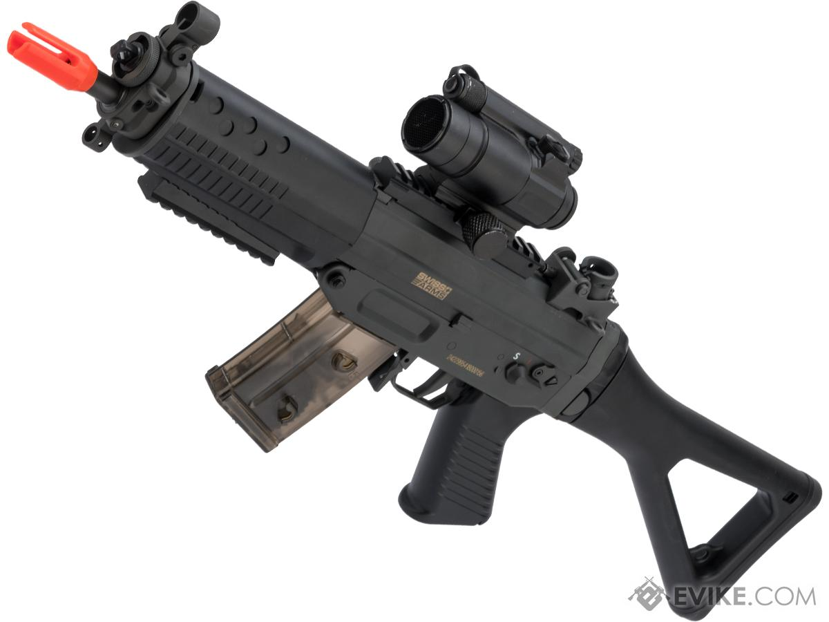 Cybergun / Swiss Arms Licensed SG552 Commando Airsoft AEG Rifle (Model: Standard / Polymer Receiver)