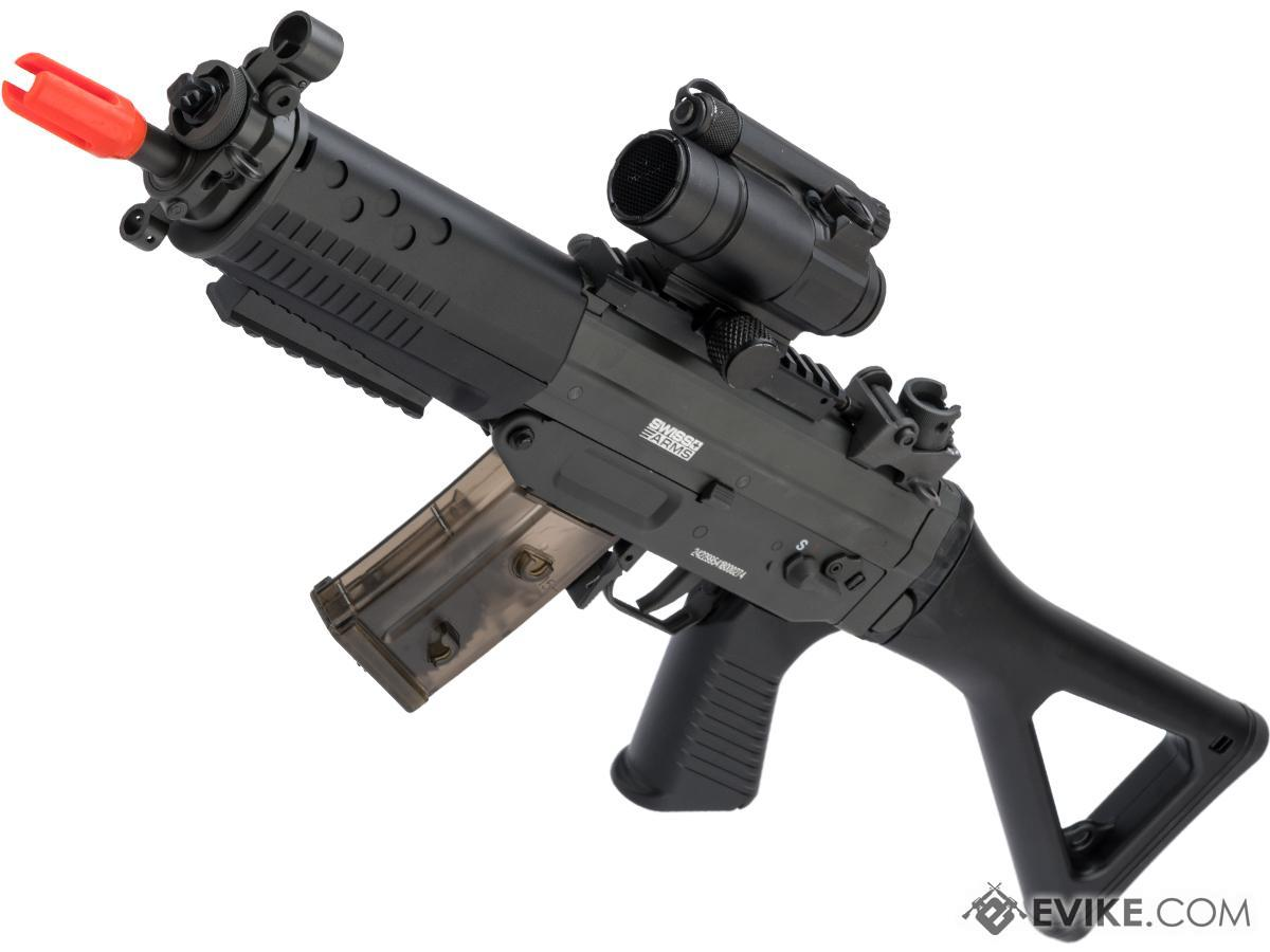 Cybergun / Swiss Arms Licensed SG552 Commando Airsoft AEG Rifle (Model: EBB / Metal Receiver)