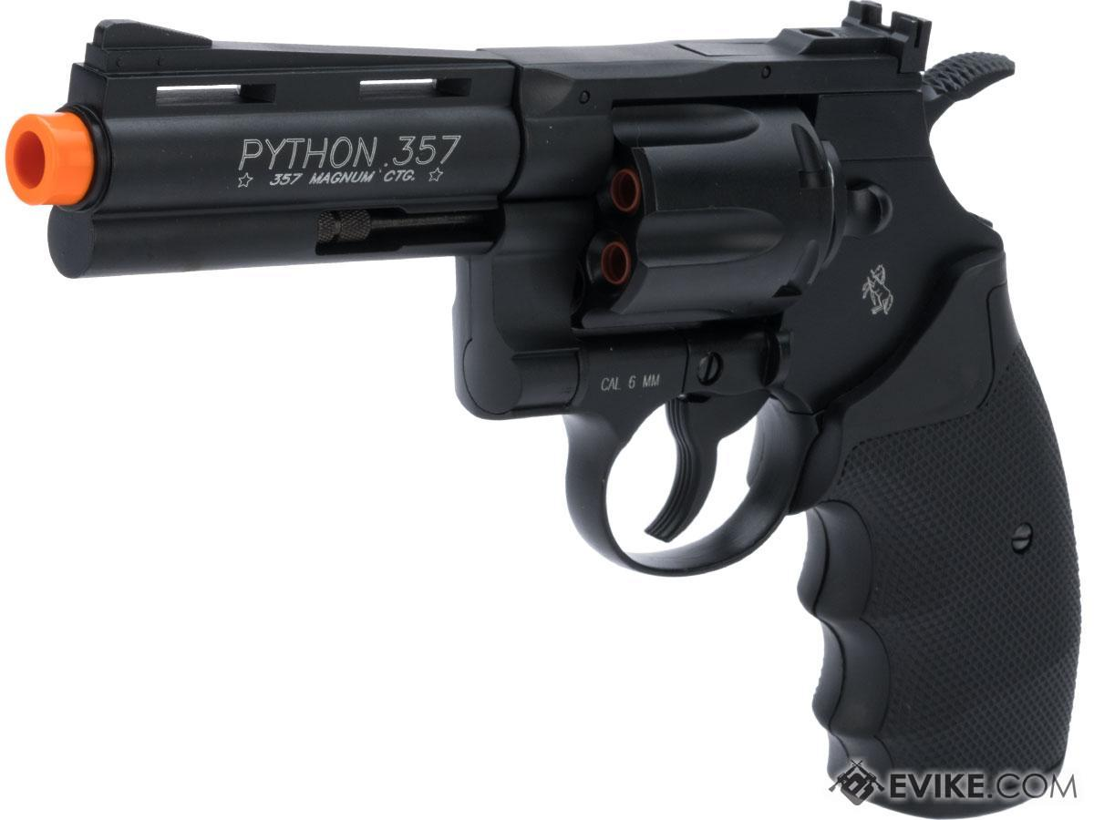 Cybergun Colt Licensed Python .357 Magnum Airsoft CO2 Revolver (Length: 4)