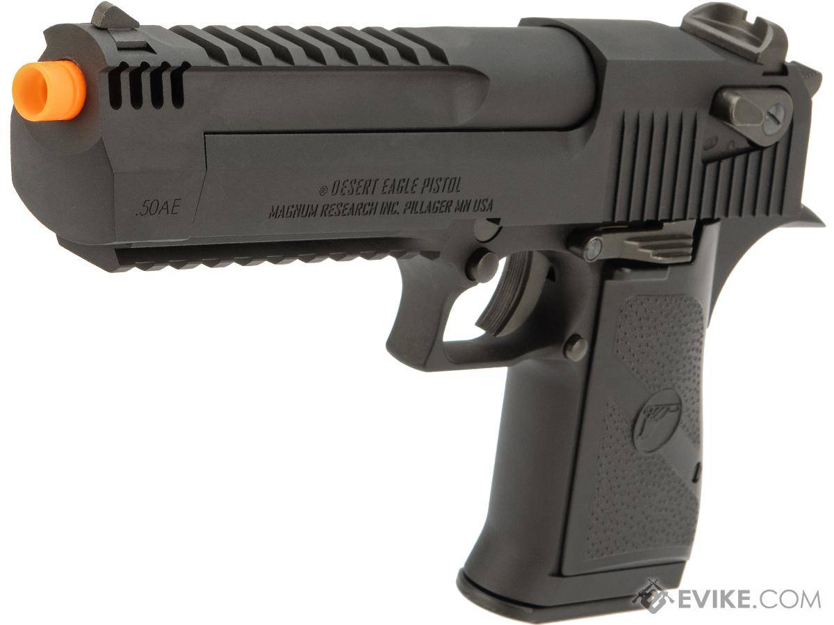 Desert Eagle Licensed L6 .50AE Full Metal Gas Blowback Airsoft Pistol by Cybergun (Color: Black)
