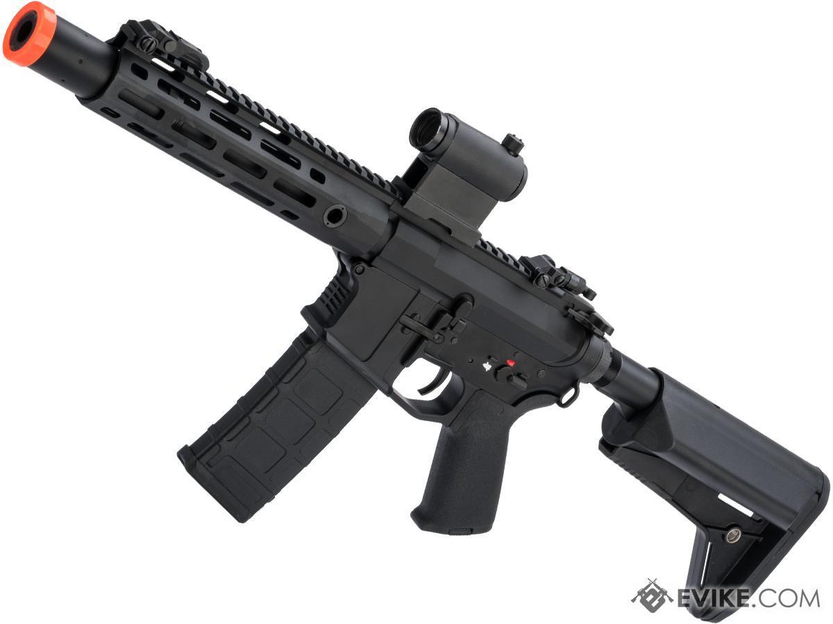CYMA Platinum M4 QBS Airsoft AEG Rifle (Model: 8.5 M-LOK w/ Suppressor)