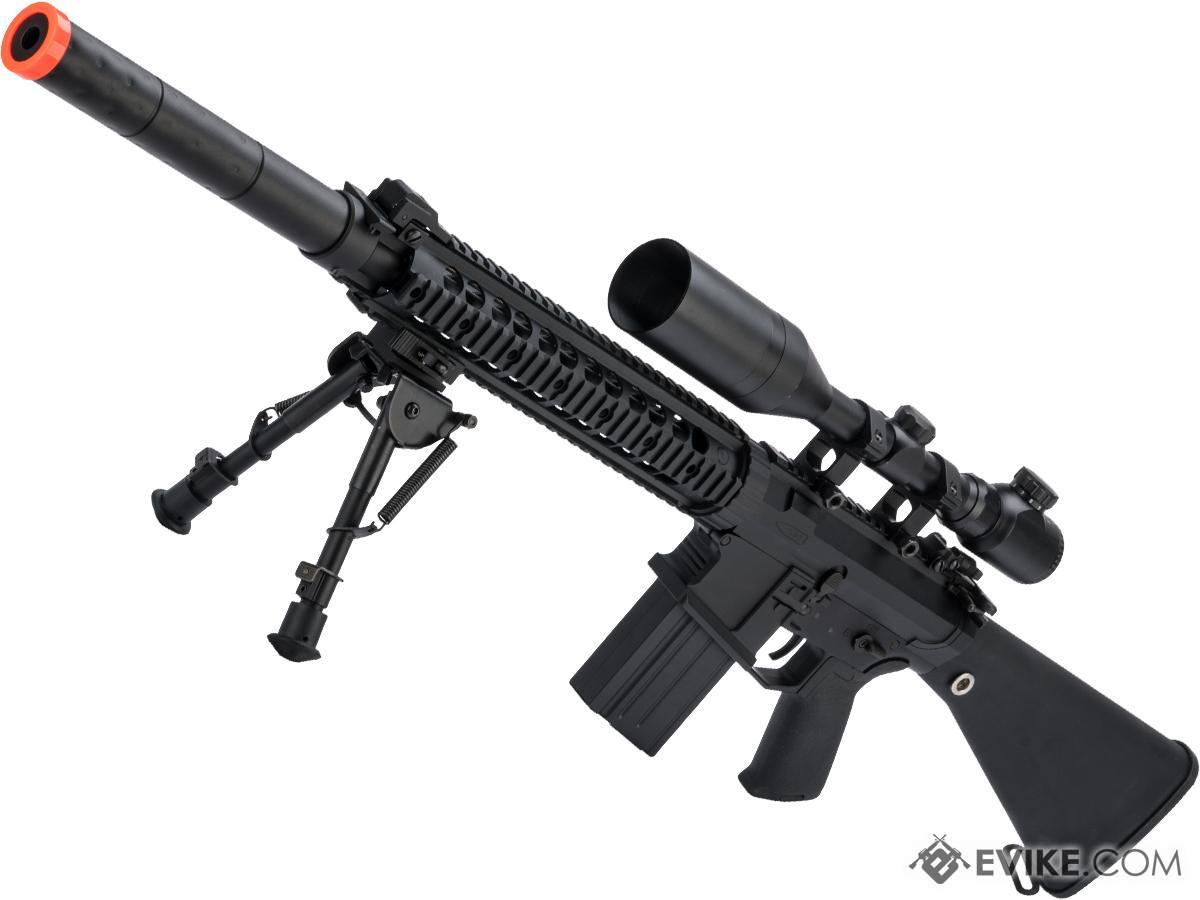 CYMA Platinum SR-25 QBS Airsoft AEG Designated Marksman Rifle (Model: SR-25)