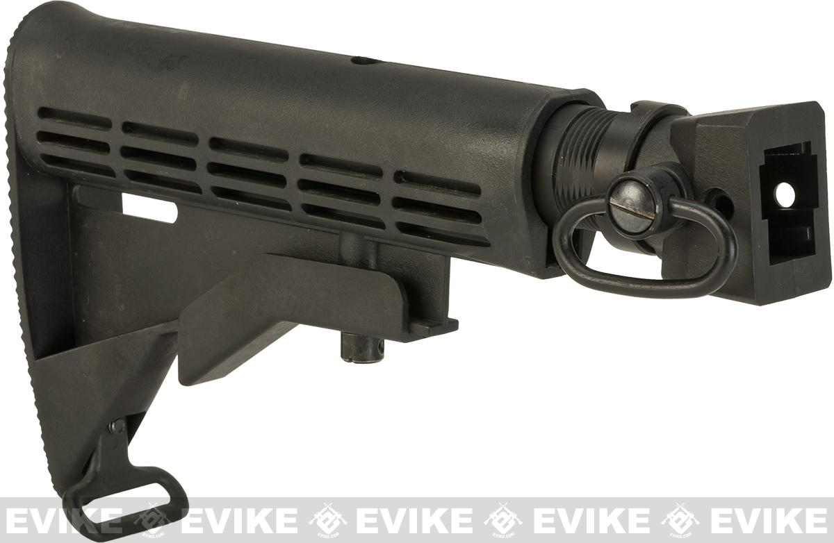 CYMA 6-Position LE Stock w/ Stock Adapter & QD Sling Swivel for AK series Airsoft AEGs